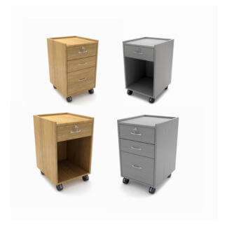 Bedside Tables - lockable